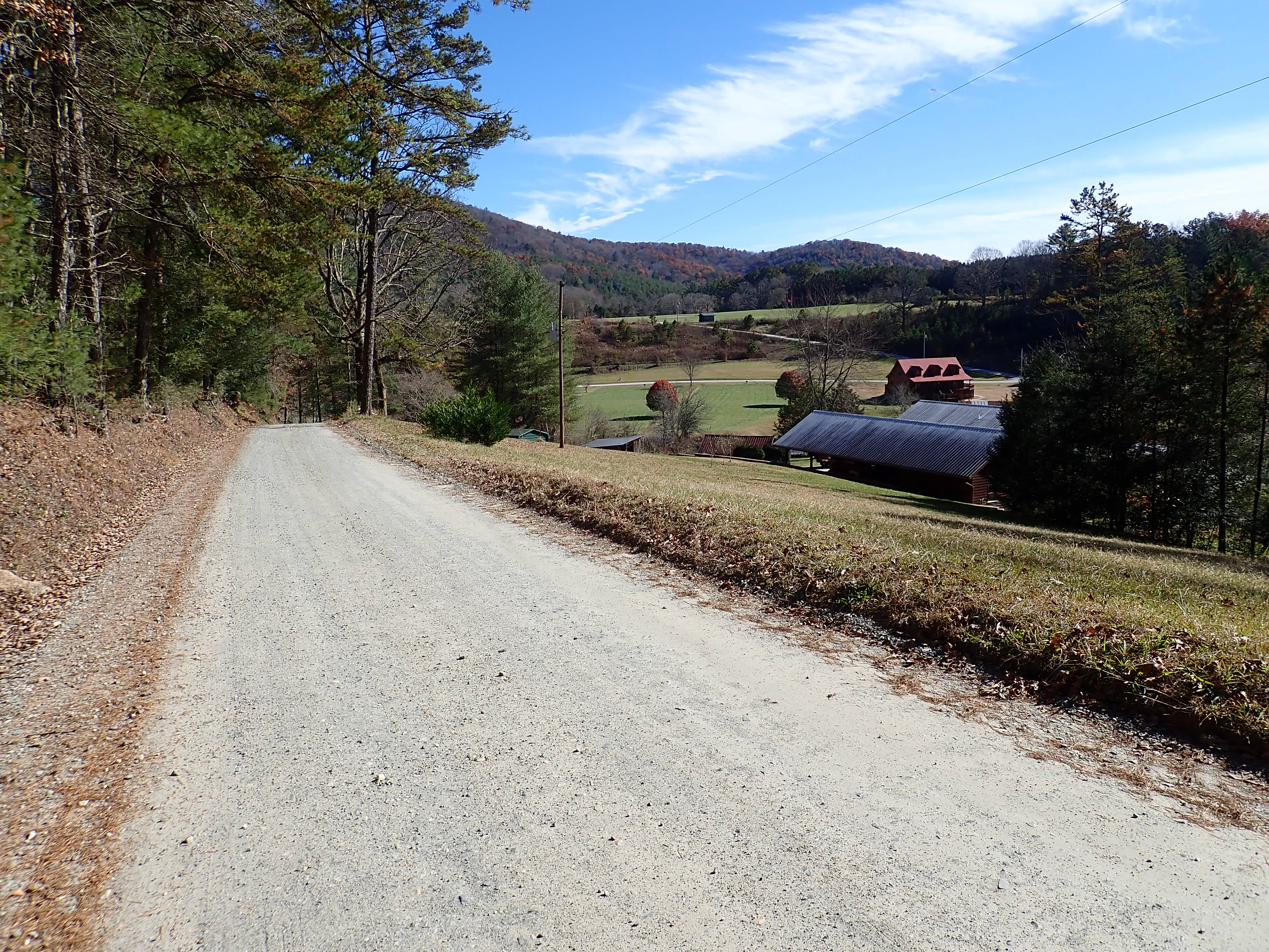 Silver Fox Trail on the Tocoa Swining Bridge route.