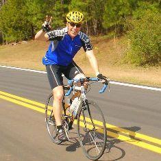 Me riding a bike