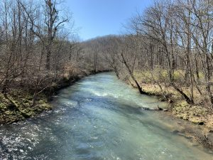 Armuchee Creek on the Haywood Valley Route