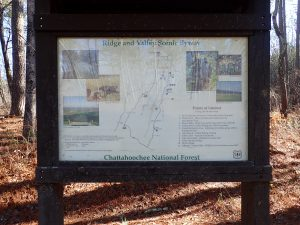 Ridge and Valley sign on the Haywood Valley Route