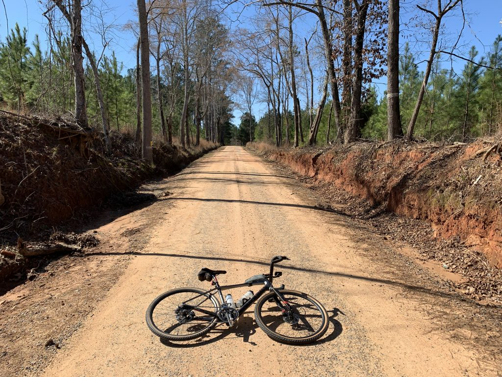 Red Clay Ramble route